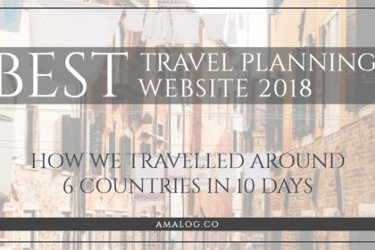 Best travel planning website - blog